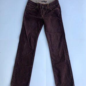 prAna corduroy pants sz 4